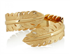 Gold Feather Cuff from Melinda Maria