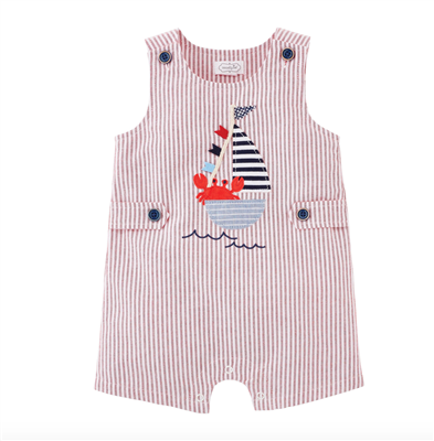 Baby Sailing Crab Jon Jon One piece from Mudpie.