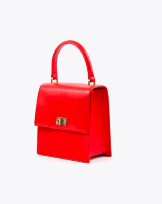 42cd5b0e0f9a Neely   Chloe Mini Lady Bag in Scarlet - ladies handbag - Safety ...