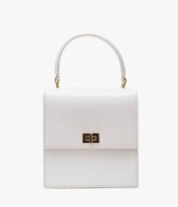 0622e5e7 Mini Lady Bag in White