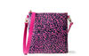OTG247 Bag 6 Crossbody bag in Hot Pink Cheetah
