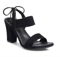 EBBA Black Suede 3 inch shoes from Ono
