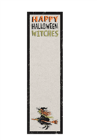 Happy Halloween magnetic list notepad