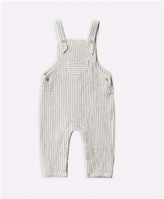 Stripe toddler cotton overalls