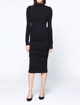 Sanctuary Essential Turtleneck Dress In Black Fall Clothing Fall