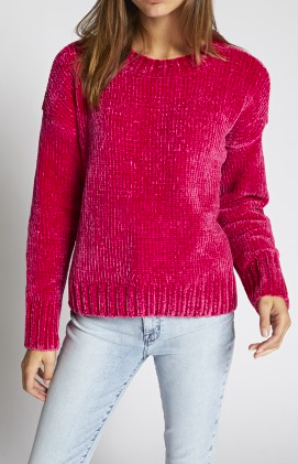 a1ce3faa4 Sanctuary Chenille Pullover Sweater in Pink - Fall Clothing - Fall ...