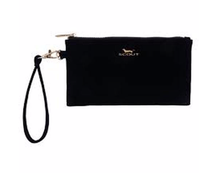 "Kate Wristlet in ""Black Velvet"" from Scout"