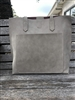 ladies non leather stone handbag