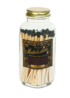 Vintage Match Bottle in black from Skeem Design