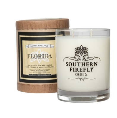 14 oz glass Florida candle