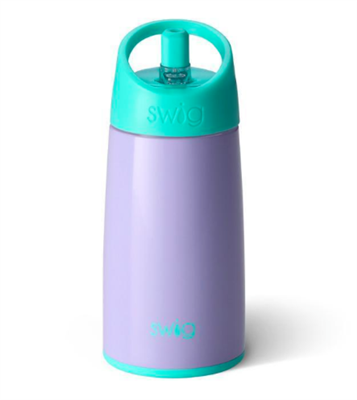 12 ounce kids flip and sip bottle in Periwinkle