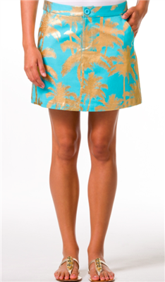 """Royal Palm"" Elsa Skirt from Tori Richard"