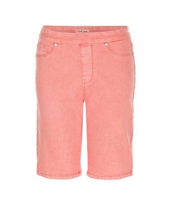 Tribal Jeans Pull on Bermuda Shorts Pinklady