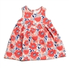 Oslo Baby Dress-Flower Garden Coral