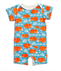 "Summer Romper ""Foxes & Hedgehogs"" from Winter Water Factory"