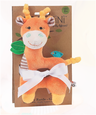orange giraffe rattle