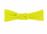 knot headband in lemon from kickee pants