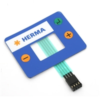 Herma H400 Replacement Foil Keypad Display