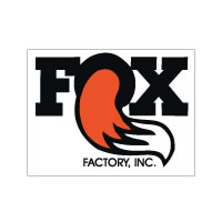 Medium Fox Factory Inc decal sticker