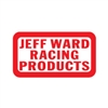 Jeff Ward Racing Products Red White decal sticker set