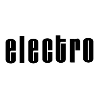 Electro Helmet Black die cut decal sticker set