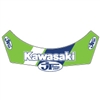 JT Racing Kawasaki Visor decal sticker