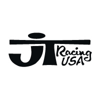 JT Racing Die Cut - Black
