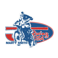 JT Racing Marty Smith decal sticker