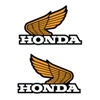 1980 1981 1982 1983 1984 Honda XR80 Tank Wing decal sticker