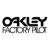 Oakley Factory Pilot - Black decal sticker