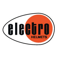 Electro Helmet Logo decal sticker
