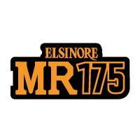 1975 1976 Honda MR175 Elsinore side panel decal sticker
