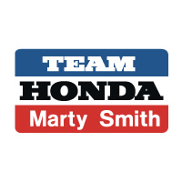 Team Honda Marty Smith