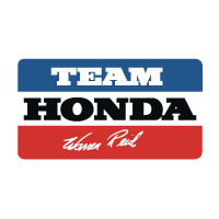 Team Honda Warren Reid decal sticker