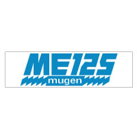 Mugen ME125 Decal Set - blue