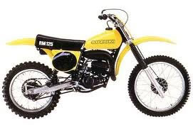 1978 1978.5 Suzuki RM100 RM125 RM250 RM400 Tank Decal Set