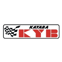 Kayaba KYB Fork WHITE decal sticker set