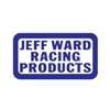 Jeff Ward Racing Products Blue White decal sticker set