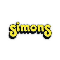 Simons Fork yellow decal sticker set