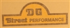 DG Street Performance Swingarm Sticker Set- Yellow