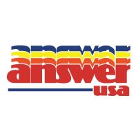 Answer USA Large Decal