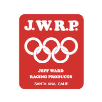JWRP Red White Fender decal sticker