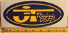 "JT Racing USA XL (8"") Oval decal sticker"