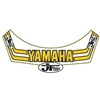 JT Racing Team Yamaha visor decal sticker