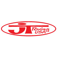 JT Oval Stretch Die Cut Decal - Red