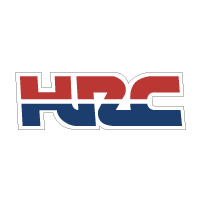 Honda HRC Lettering decal sticker die cut