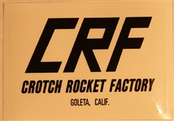 Crotch Rocket Factory  CRF