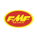 FMF Large Oval Red Yellow