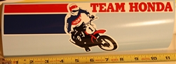 1970's Vintage Team Honda bumper sticker