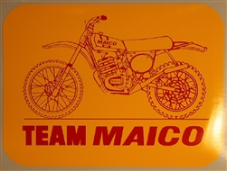 "Team Maico ""bike"" decal sticker"